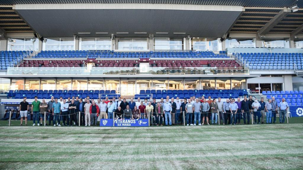 Las leyendas de la SD Huesca se dan cita para conocer su legado