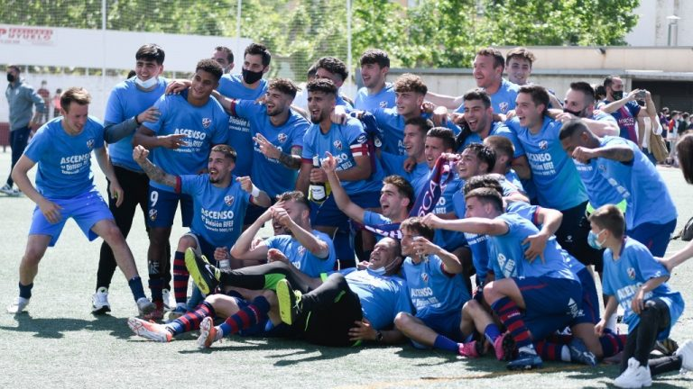 La SD Huesca B asciende a Segunda División RFEF!